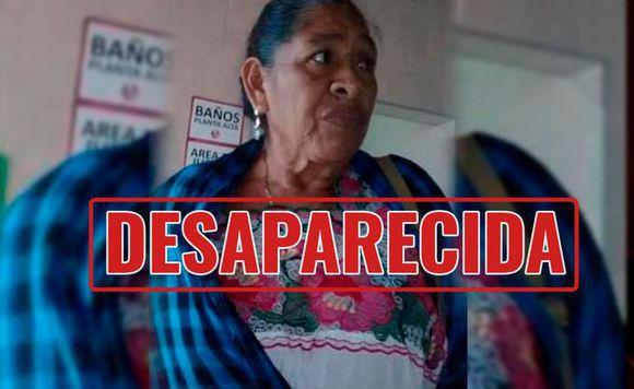 SeñoraMirna Aida Ravell Ceh de 61 años, ayúdala a regresar a su casa