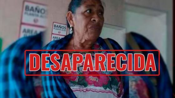 Sigue la búsqueda de Mirna R.C. de 61 años luego de desaparecer en Timucuy