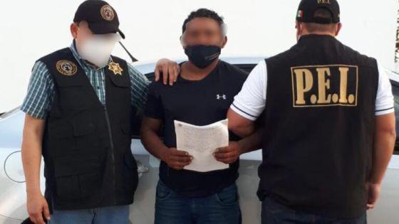 Detienen a prófugo tras asesinar a un sujeto con una escopeta en Maxcanú