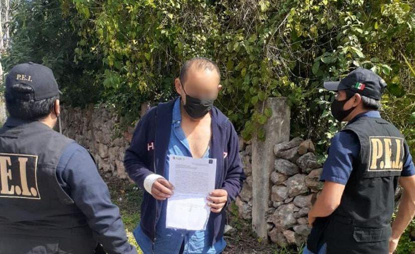 Detienen a hombre que intentó matar a su esposa a puñaladas en Tzucacab