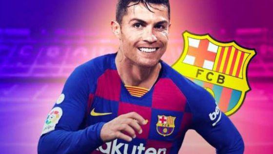 FC Barcelona rechazó a Cristiano Ronaldo