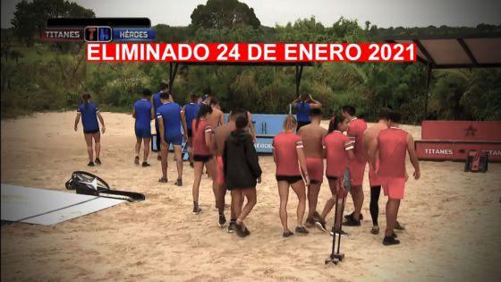 Exatlón México: ELIMINADO 24 de enero 2021