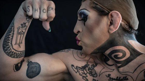 De luchador profesional a 'Drag Queen', así es la vida de Diego