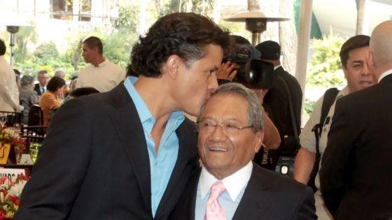 Hijo de Armando Manzanero envía mensaje a la delincuencia organizada por la herencia