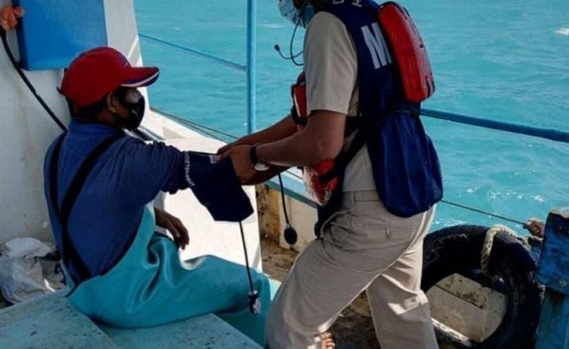 Pescadores son rescatados luego de estar 9 días a la deriva en Progreso