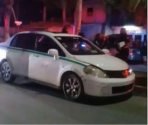 Matan de un disparo a otro taxista en Cancún.