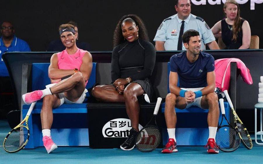 Djokovic, Nadal y Serena Williams jugarán torneo de exhibición