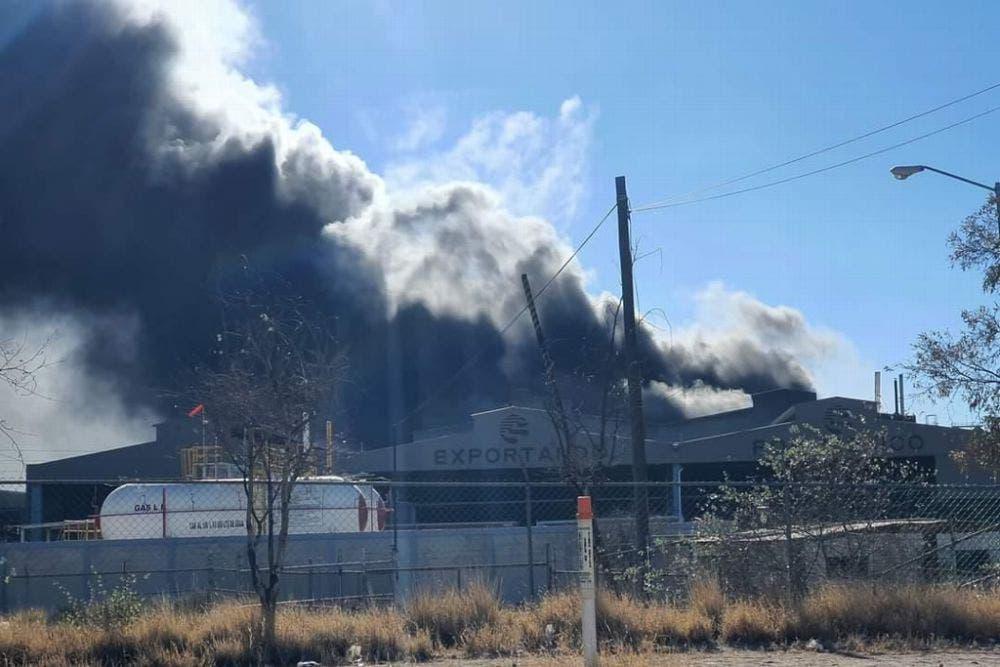 Explosión en planta de zinc en San Luis Potosí.