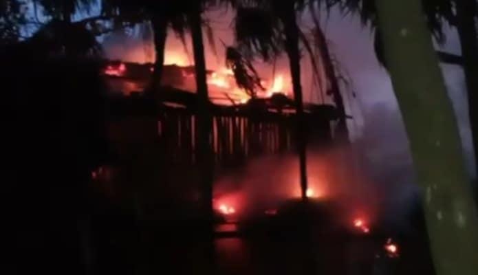 Video: Incendio en hotel de Roberto Palazuelos en Tulum.