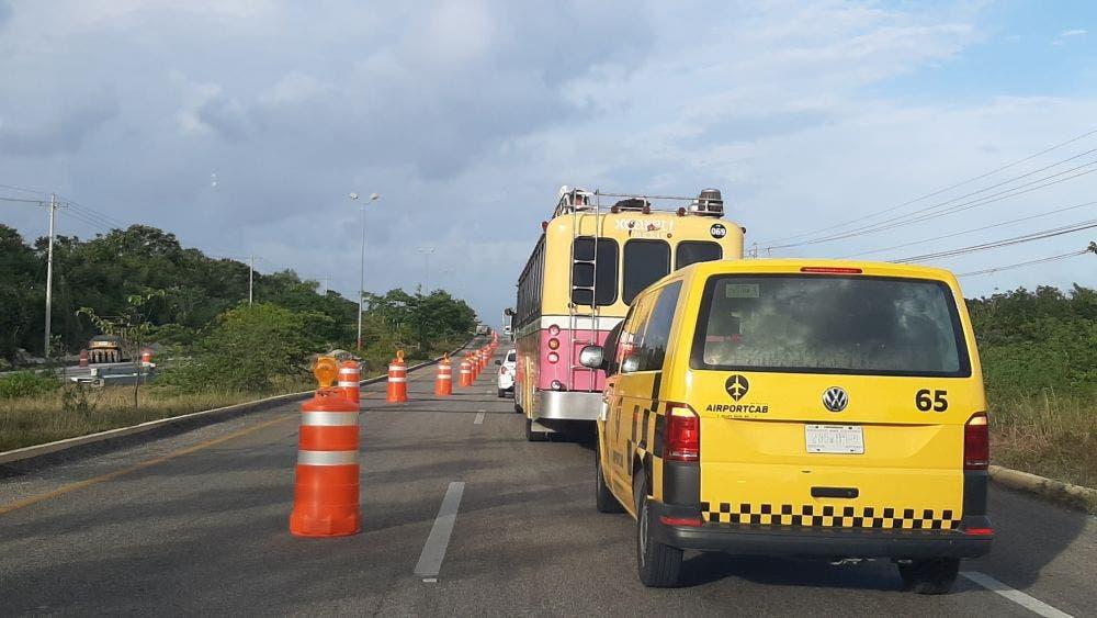 Diseña SCT y Fonatur solución permanente a tramo carretero Playa-Cancún.