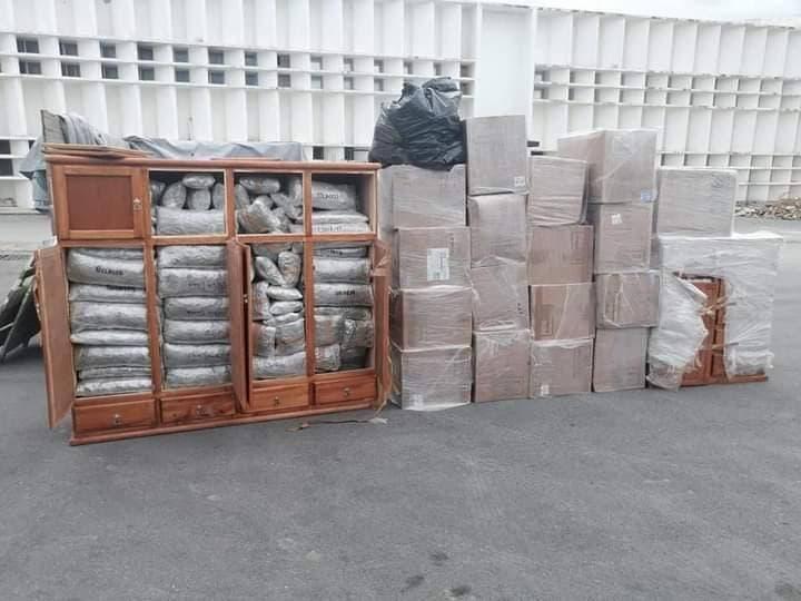 Sorprenden a militares intentando introducir droga a Yucatán.