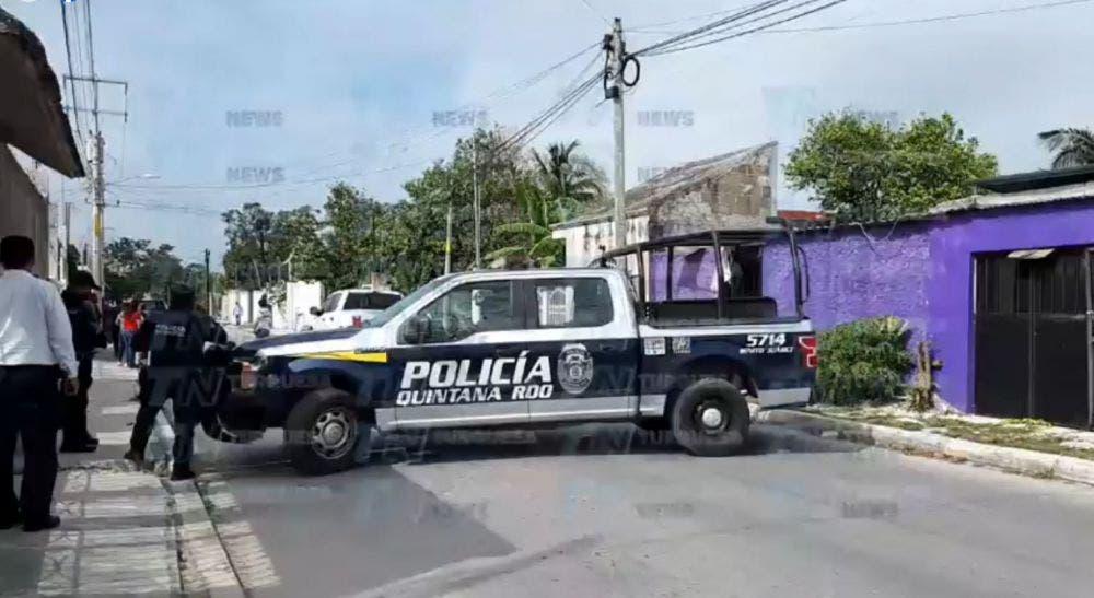 Se registra balacera en colonia popular de Cancún