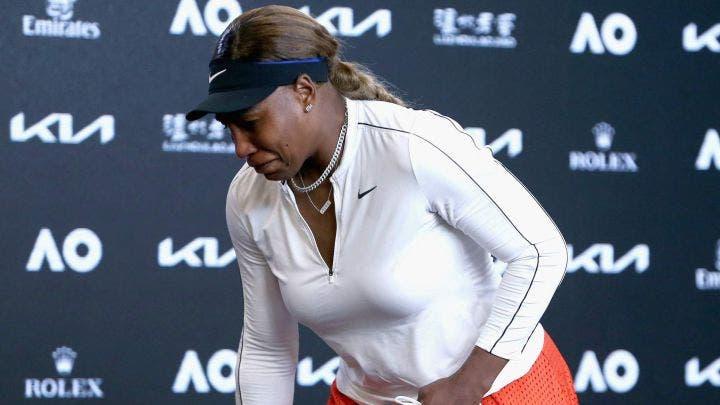 Serena Williams rompe en llanto tras ser eliminada