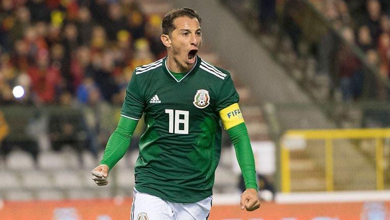 Andrés Guardado quiere asistir a su quinto mundial
