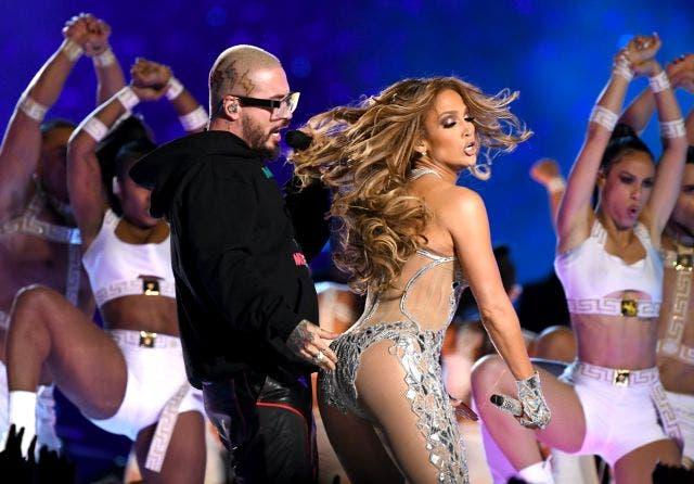 Super Bowl: J. Balvin recuerda su candente baile junto a J. Lo