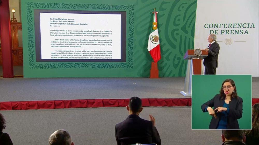 """Ordena AMLO indagar a la ASF; reporte """"falso y tendencioso"""""""
