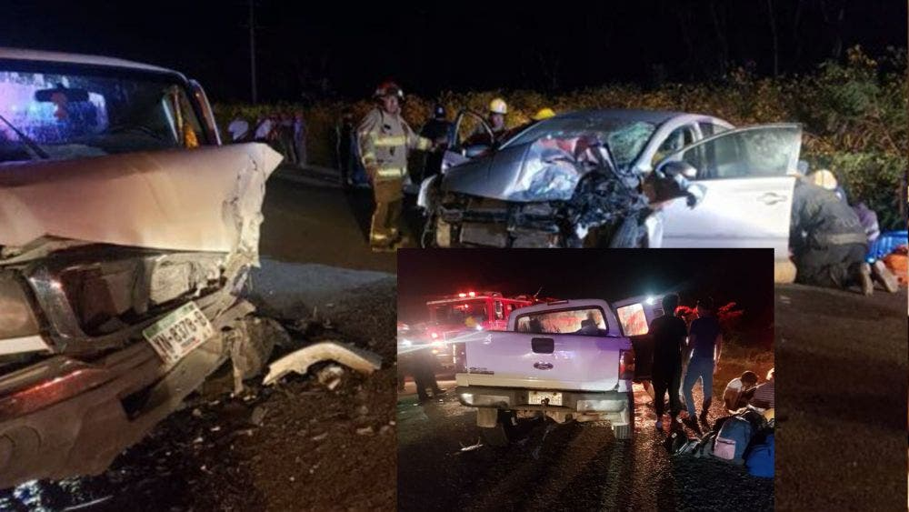 Carreterazo en la Tulum-Coba deja un muerto y varios heridos graves