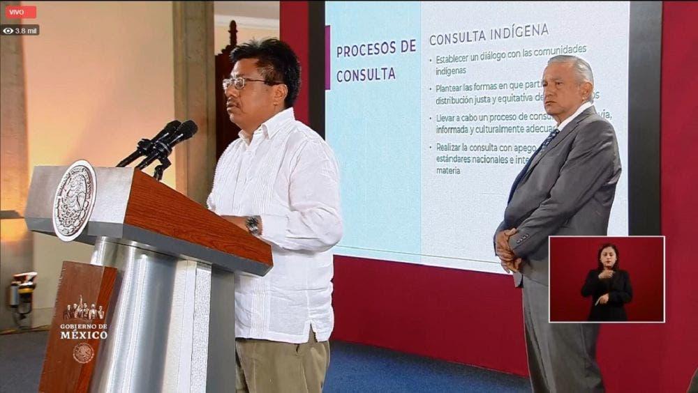Adelfo Regino, director del INPI, da positivo a Covid-19