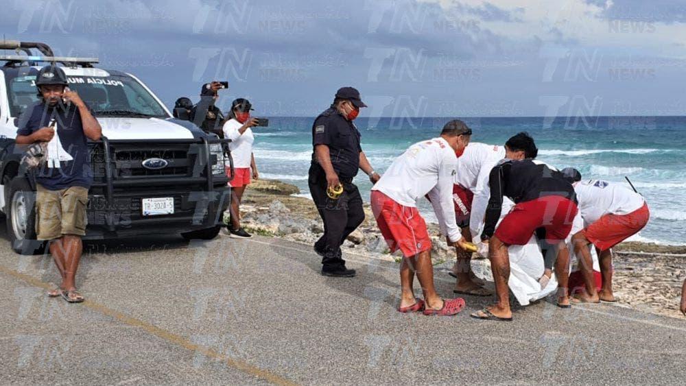 Fallecen dos pescadores en Cozumel víctimas de turbonada