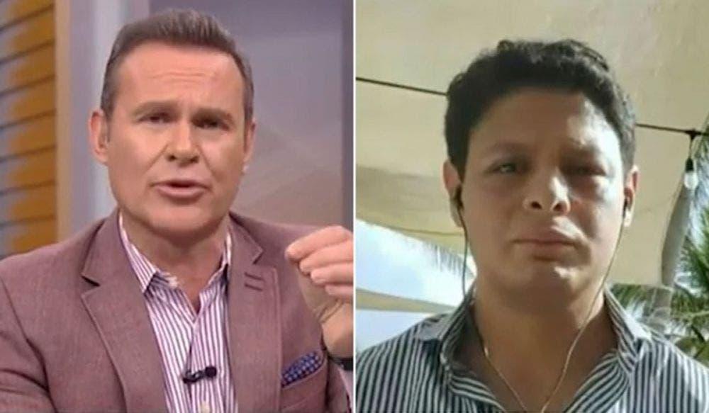 Alan Tacher se pelea en vivo con Giovanni Medina por Ninel Conde