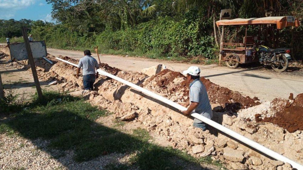 Arrancan ampliación de red hidráulica en José María Morelos