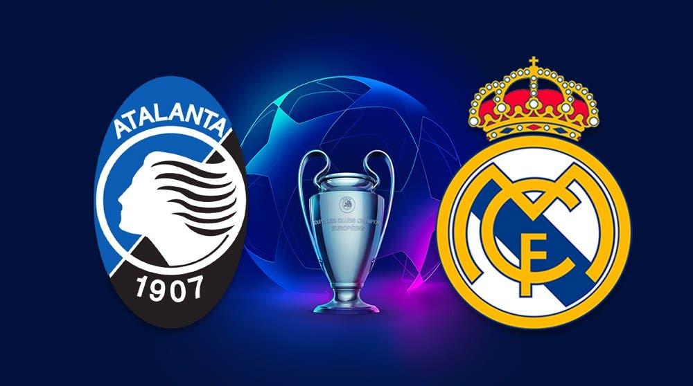 Champions League: Real Madrid vs Atalanta en vivo
