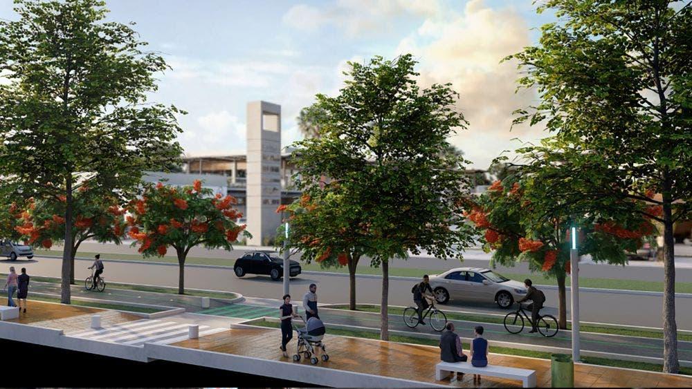 Avanza proyecto de ciclovia en avenida Bonampak de Cancún
