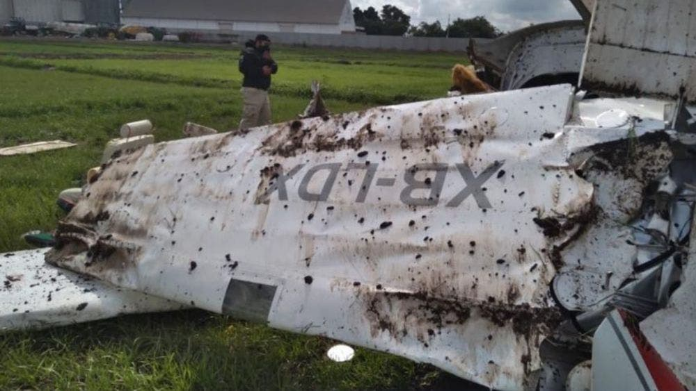 """Parientes de """"El señor de los cielos"""" víctimas de avionazo en Sinaloa"""