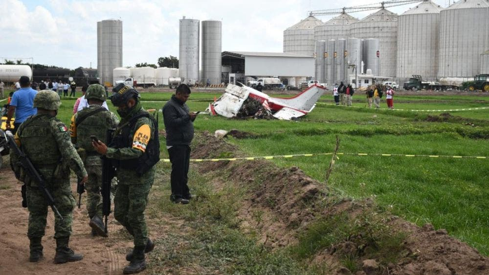 Video: Avionazo en Sinaloa, se habla de tres muertos