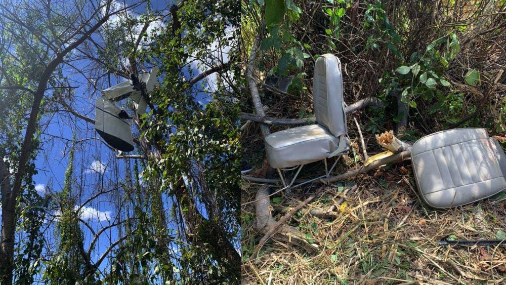 Se desploma avioneta en El Salvador y deja tres muertos
