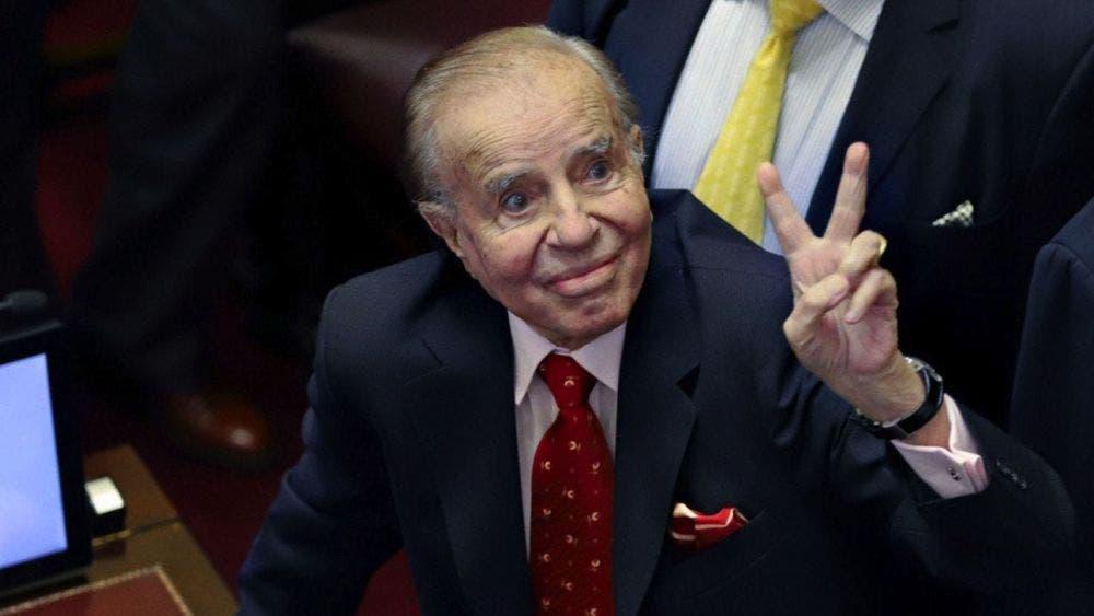 Muere Carlos Menem expresidente argentino