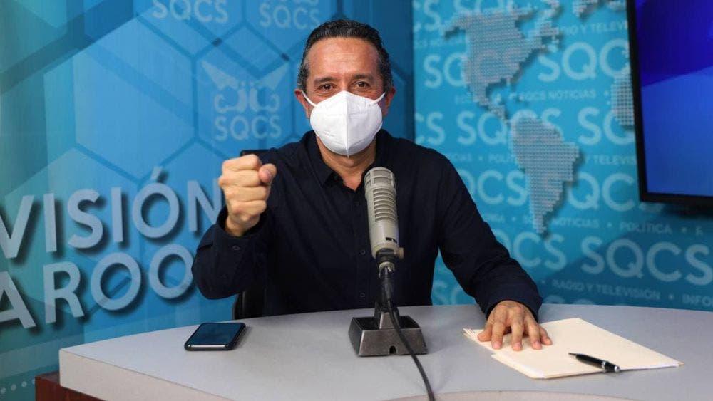 Quintana Roo regresa al color amarillo del 22 al 28 de febrero: Carlos Joaquín