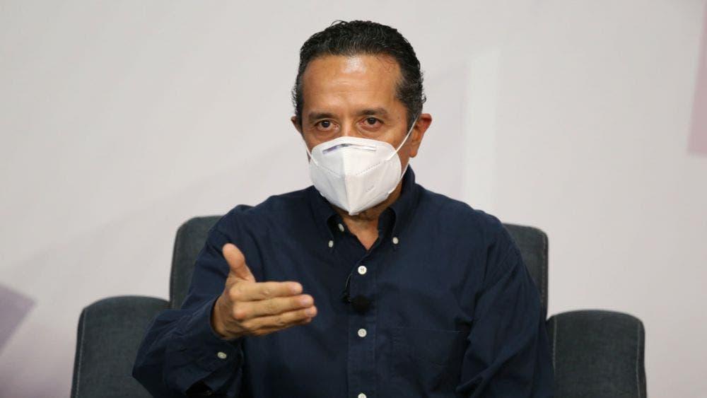 Quintana Roo tiene un 12% de ocupación hospitalaria, 9 camas con ventilador y 21 personas intubadas: Carlos Joaquín