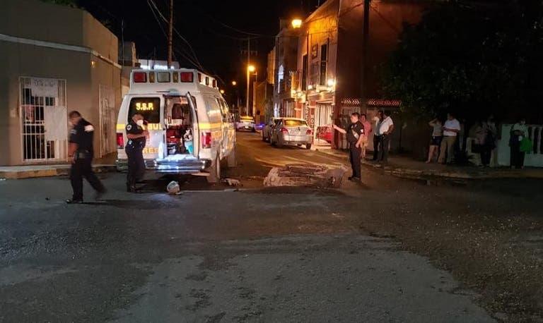 Conductor choca contra una ambulancia de Valladolid y se da a la fuga