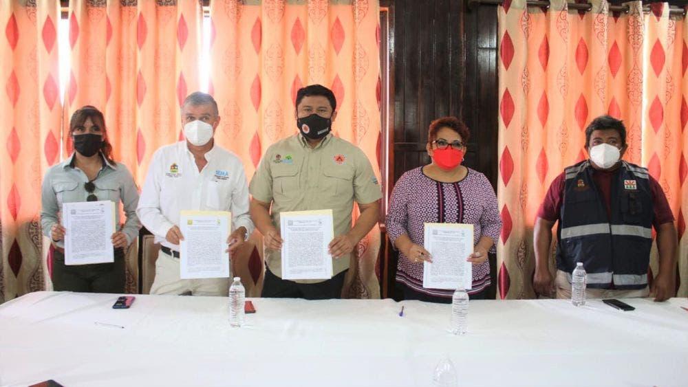 Se alistan en José María Morelos para incendios forestales