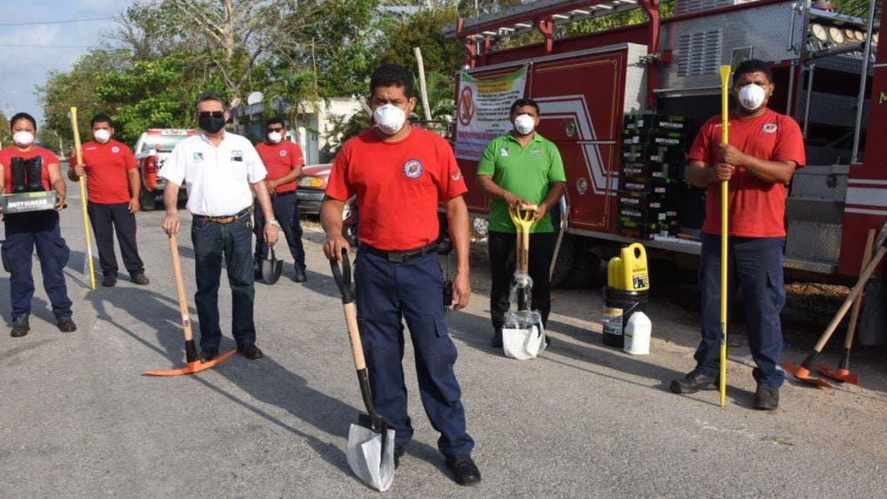Instala gobierno de Puerto Morelos comité para la detección, atención y combate de incendios forestales