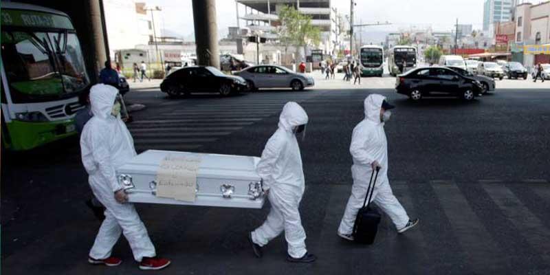 Ya son 175 mil 986 muertos por coronavirus en México