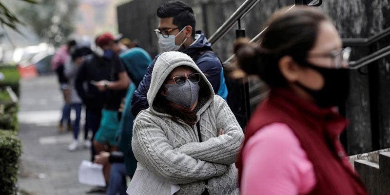 Ya son 166 mil 731 muertos por coronavirus en México