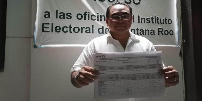 Daniel Estrella Matos virtual candidato independiente en Benito Juárez.