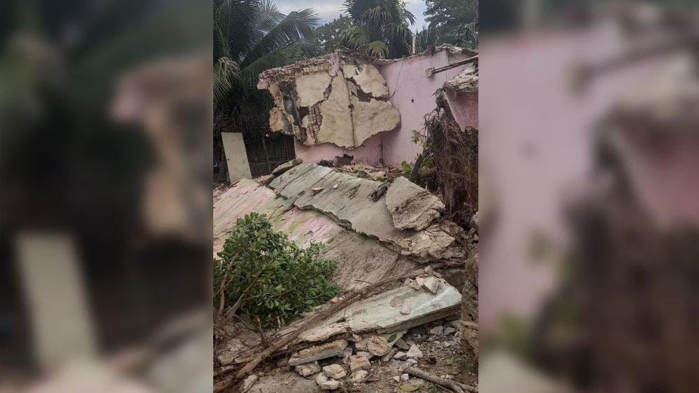 Jerarca maya de Felipe Carrillo Puerto pierde su casa por derrumbe