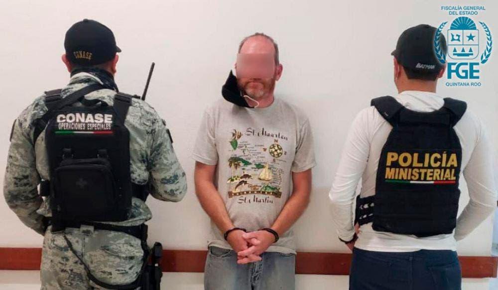 Detienen en Cozumel a pedófilo buscado en Estados Unidos