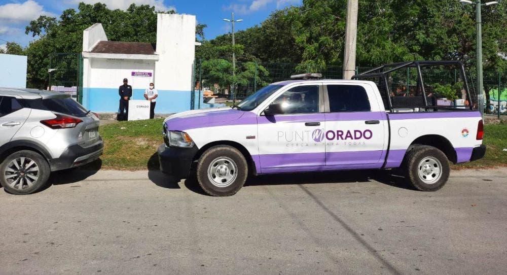 Punto Morado ayuda a las mujeres a identificar si sufren violencia.