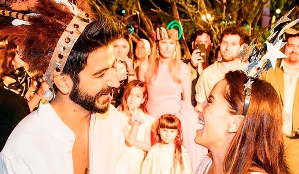 Evaluna y Camilo presumen su amor en su primer aniversario de casados