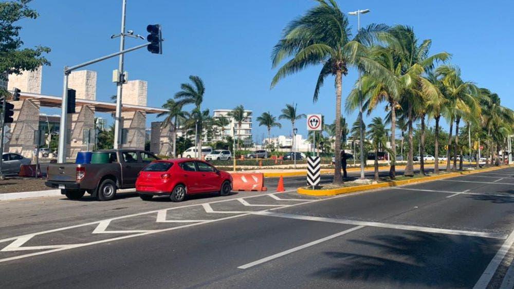 Ajustará Fonatur semaforización en glorieta de Puerto Cancún