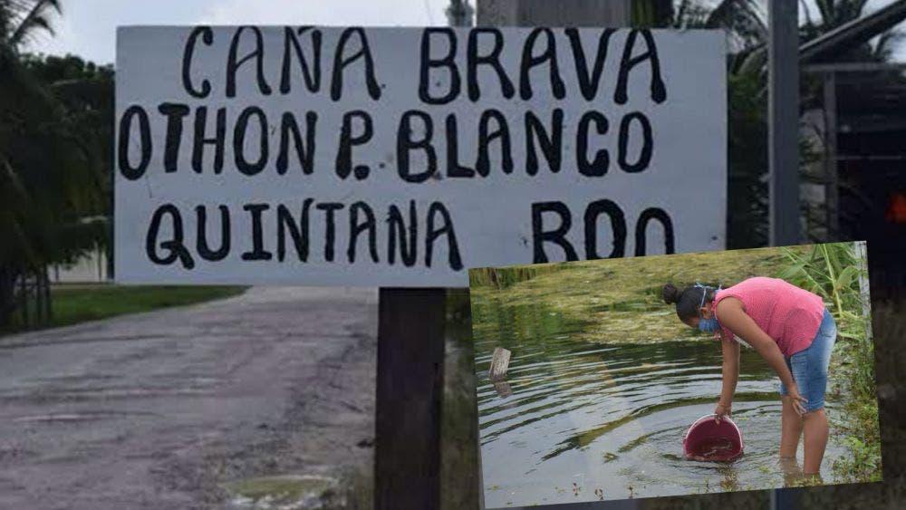 Pobladores de Quintana Roo amenazan al gobierno por no dotarlos de agua