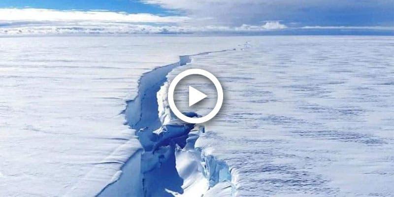 Se desprende de la Antártida iceberg del tamaño de Los Ángeles.