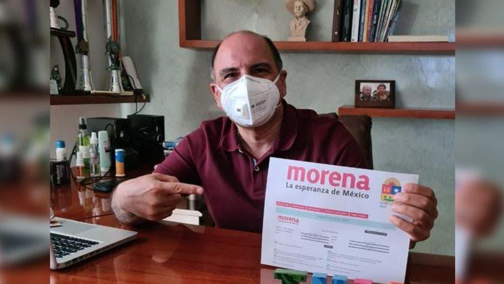 Jorge Portilla va de nuevo por presidencia de Tulum