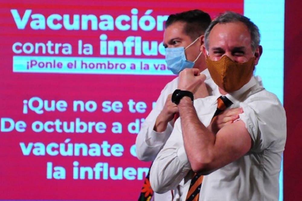 Recibe López-Gatell oxigenación por infección de Covid-19