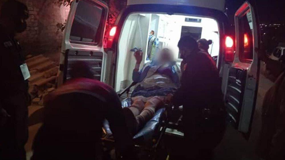Por pleito entre hermanos su madre termina herida de bala