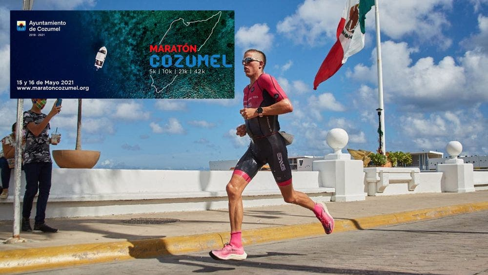 "Anuncian el primer ""Maratón Cozumel 2021"""